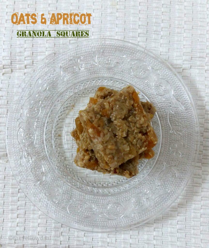 Oats-Apricot-Granola-Squares