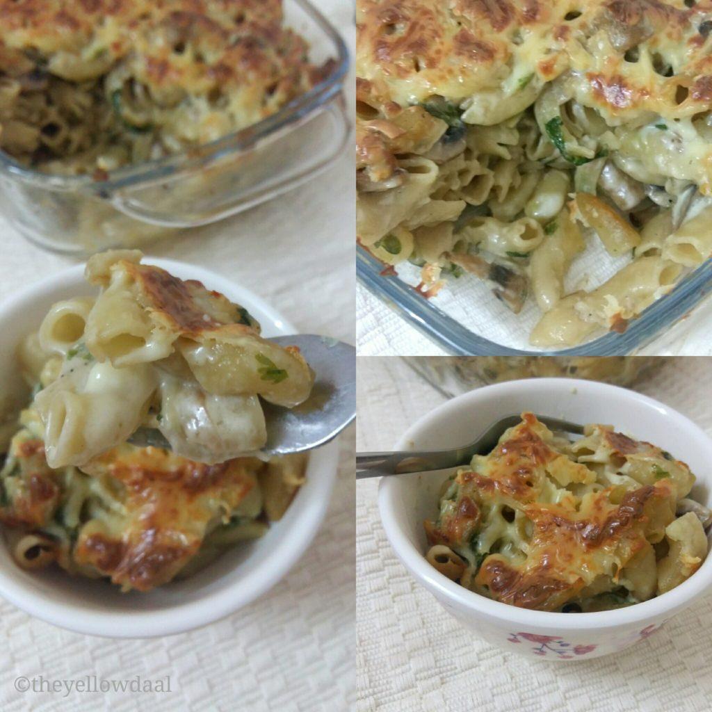 Cheesy-Mushroom-Pasta-One-Pot