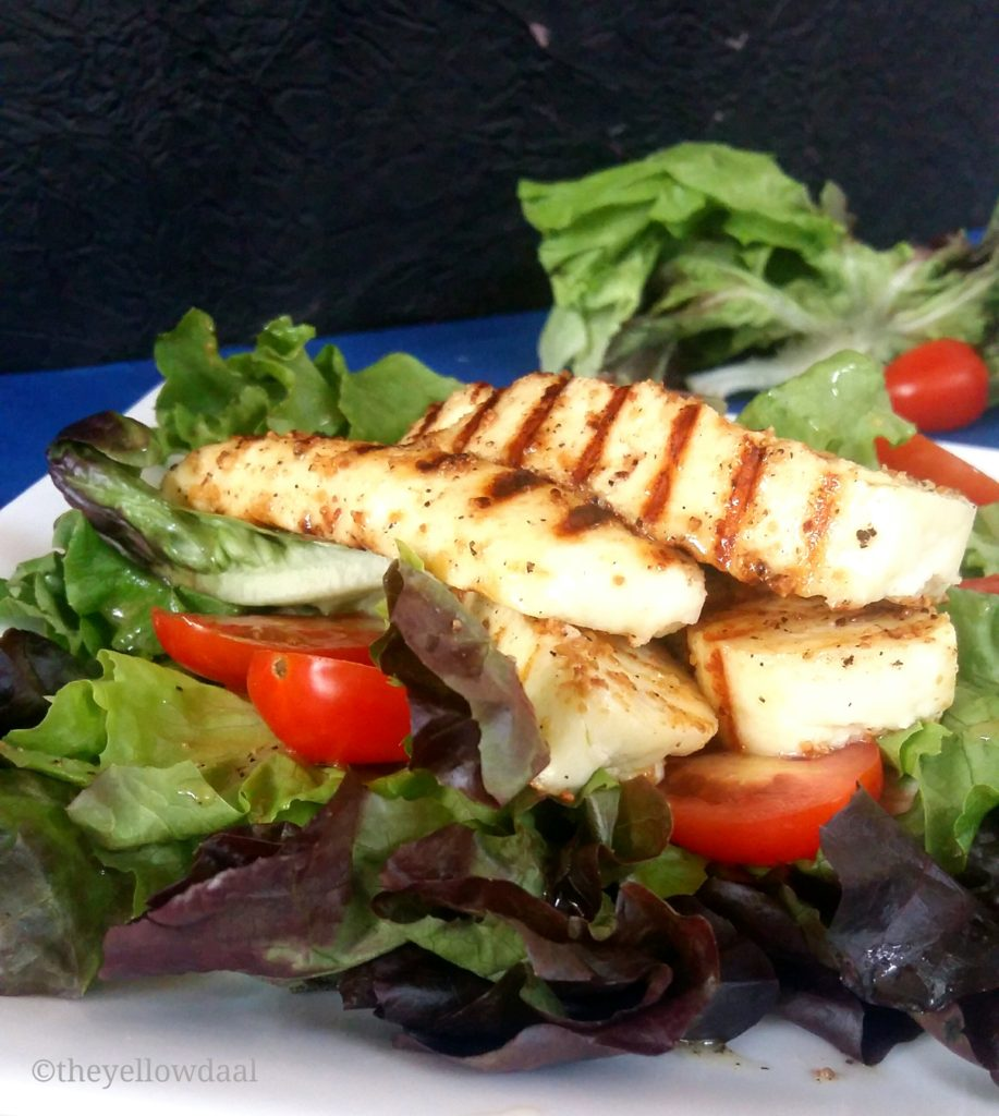 Grilled-Paneer-Salad-Cottage-Cheese-Salad-Leaves-Baby-Tomatos