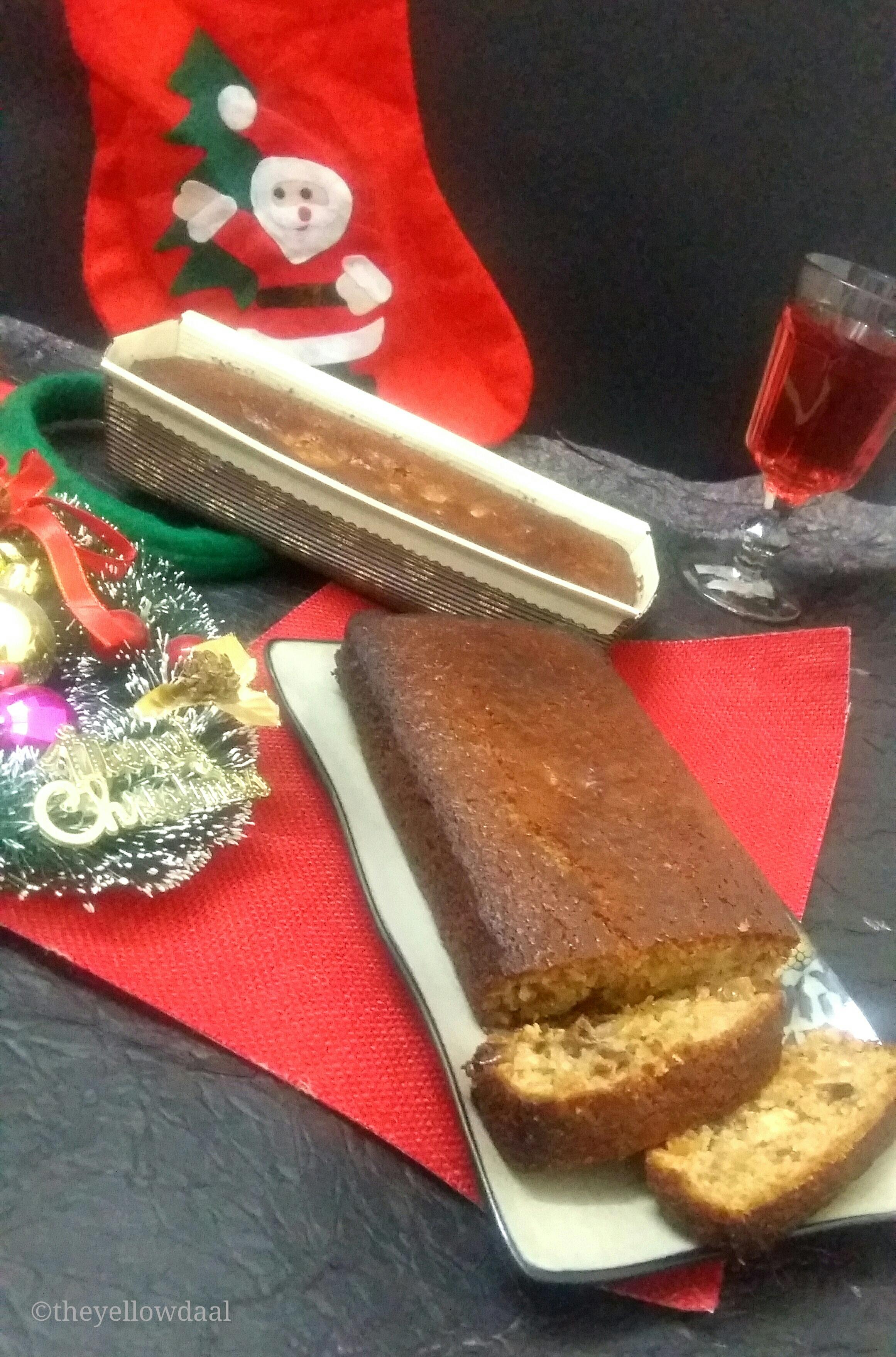 Christmas Cake Fruit Sinking