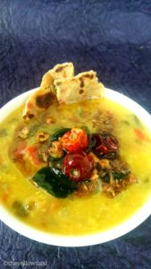 Daal-Tadka-With-Radish-Greens