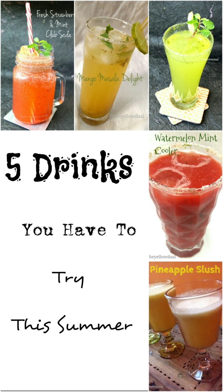 ​5 Awesome Drinks For This Summer