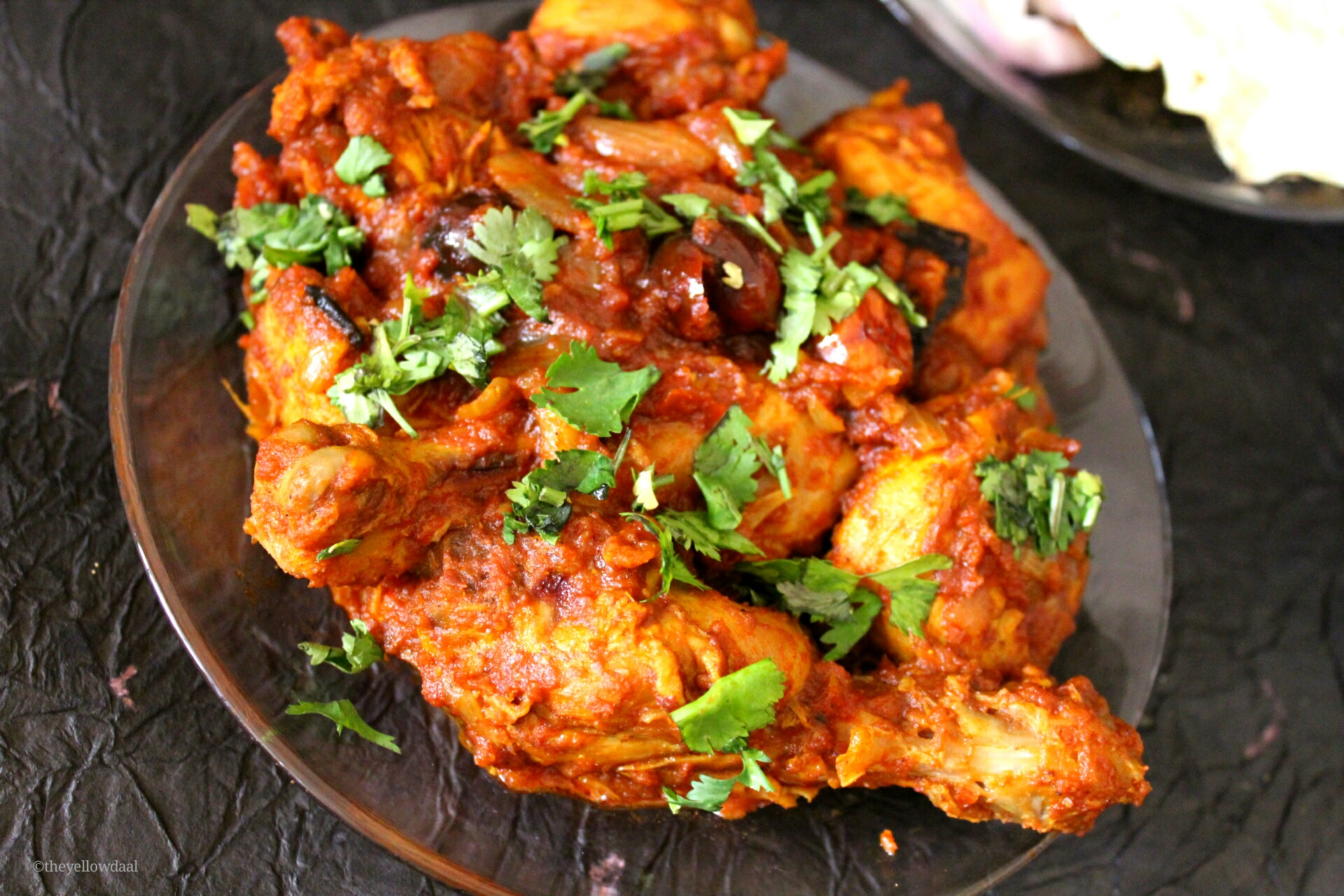 Dahi Murgh | Indian Spiced Chicken In Yougurt Sauce