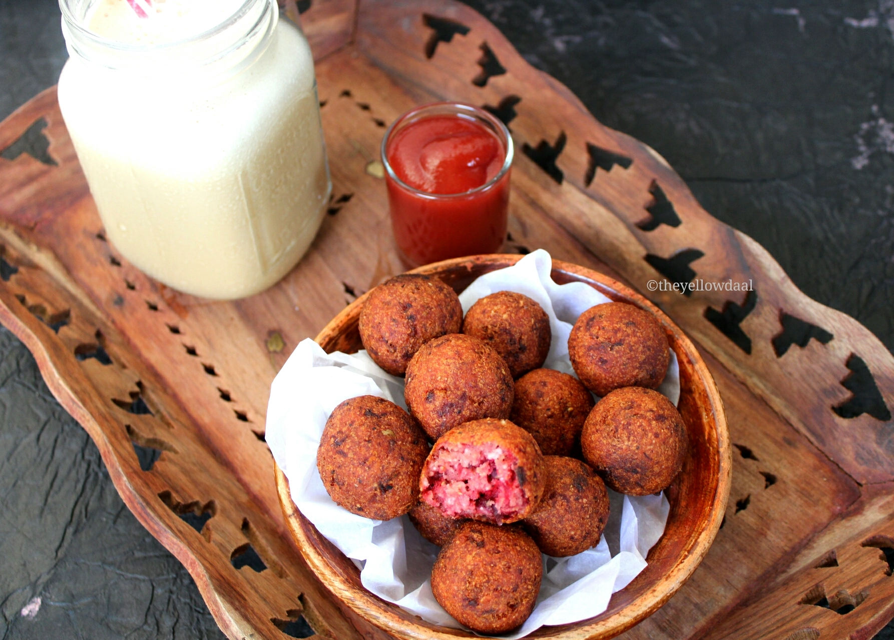 Beetroot & Potato Croquettes | Most Awesome Finger Food