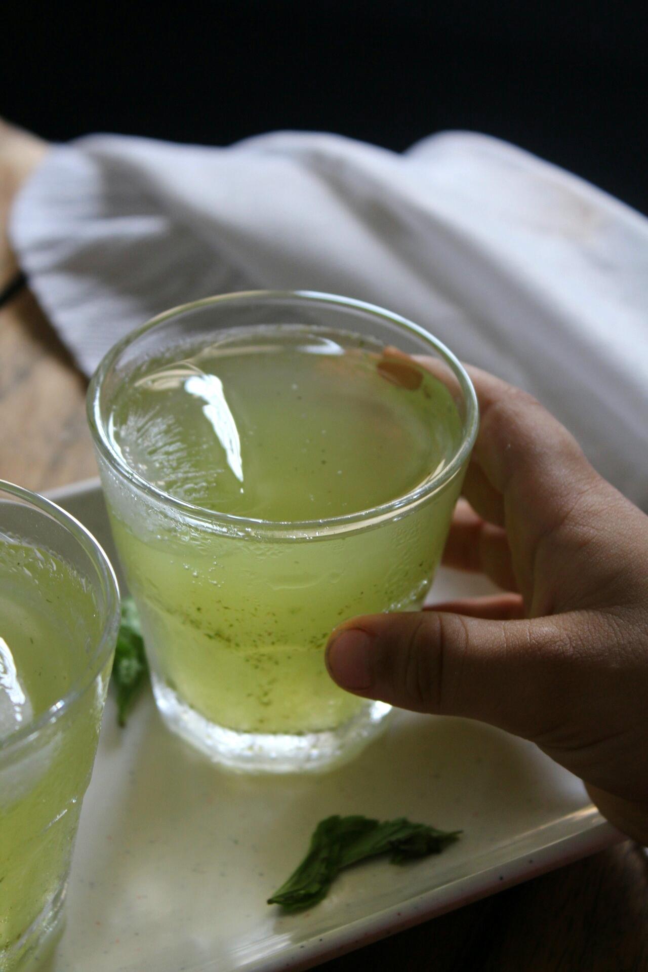 Lychee-mint-cooler