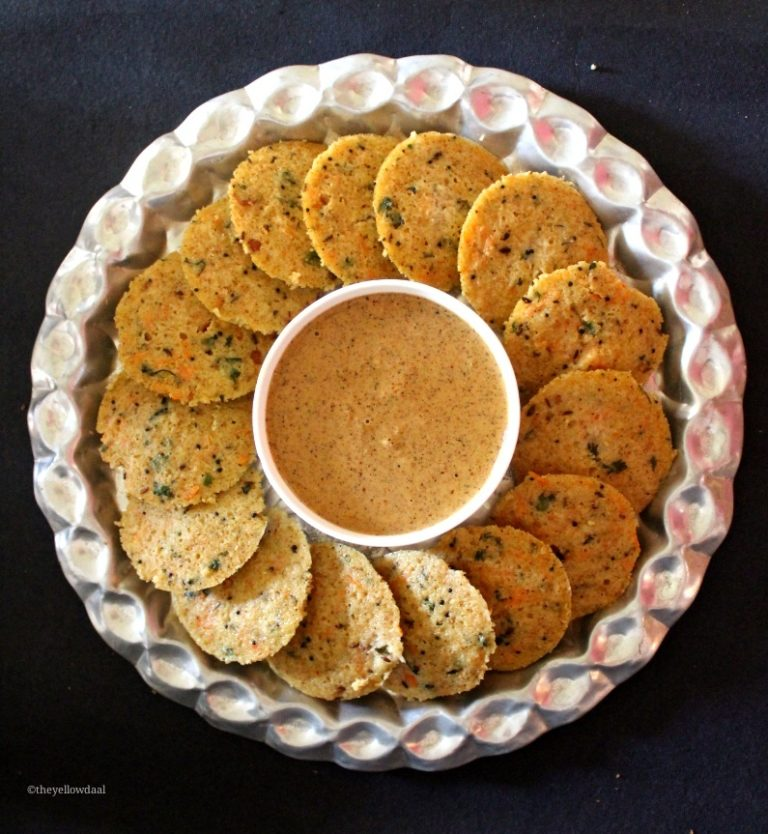 andhra-palli-chutney-with-idli
