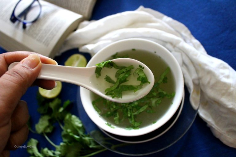lemon-coriander-soup