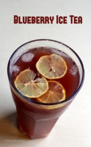 Blueberry-ice-tea