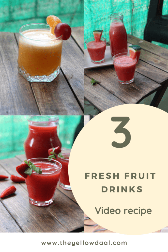 Fresh fruit drinks pinterest 1